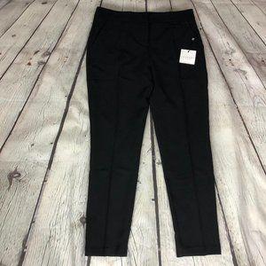 Size 10 Skinny Black Dress Work Pants NWT